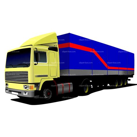 Semi Truck Clipart Truck And Trailer Clipart Clipart Suggest