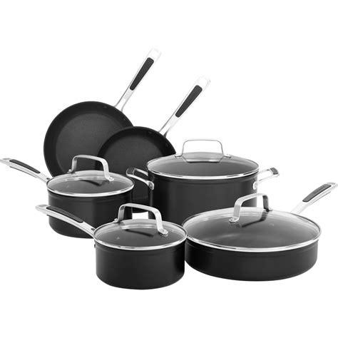 kitchenaid  pc hard anodized nonstick cookware set