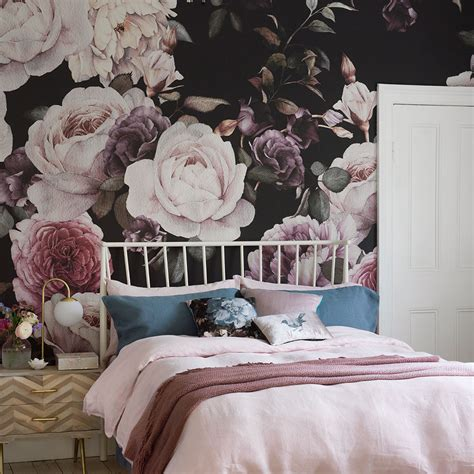 Make Home Bloom Floral Wallpaper Ideas by Feature Wall Ideas Make A Style Statement With Wallpaper