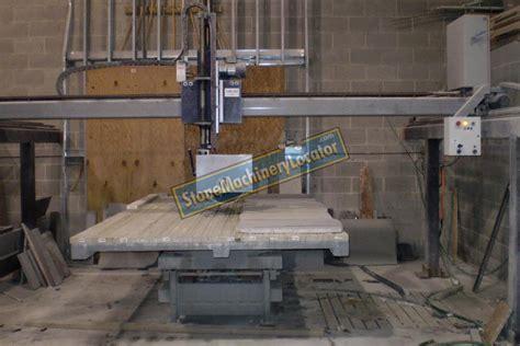 r e c gbs 100 bridge saw w tilt table machinery