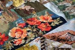 Canevas Pour Tapis : un tapis r alis avec des canevas wayome ~ Farleysfitness.com Idées de Décoration