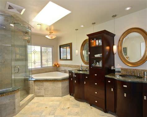 Corner Tub Bathroom Designs by Exquisite Corner Bathtub Designs Symbolizing Bathroom