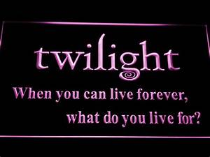 Twilight LED Neon Sign