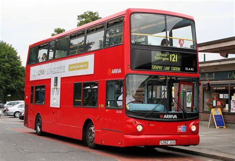 london bus routes route  enfield island village