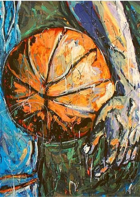 john robertson sports art art basketball images time