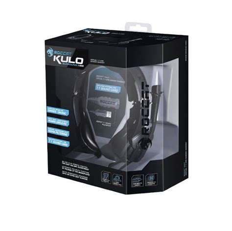 Roccat Kulo 7 1 Usb roccat kulo 7 1 usb gaming headset roc 14 700