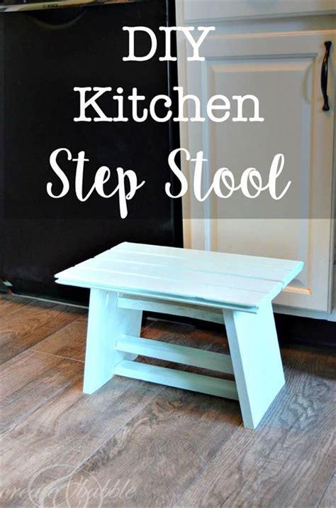 kitchen step stool buildsomethingcom