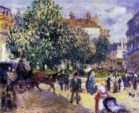 Place De La Trinite 1875 Pierre Auguste Renoir
