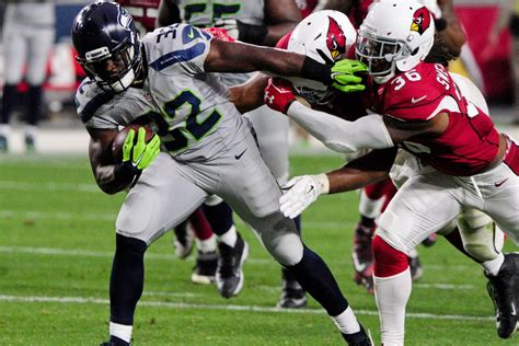 seahawks pluck cardinals feathers steal  worms