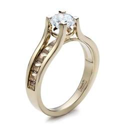 womens engagement rings 39 s mokume engagement ring 100099