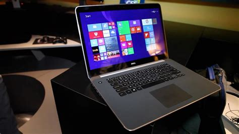 dell xps    ultra hd hands   ces  youtube