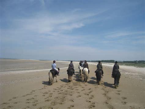 de cancale au mont michel bretagne 224 cheval