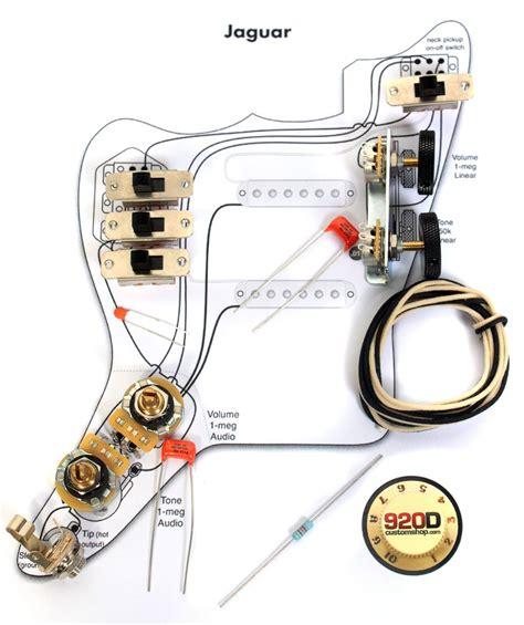 Fender Wiring Gibson Vintage Diagram Circuit by 920d Custom Jgk Vintage Wiring Kit For Vintage Jaguar