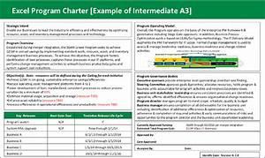 pmbok project charter example wwwpixsharkcom images With program charter template
