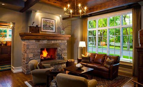 Popular Living Room Colors 2016 by 15 Warm Craftsman Living Room Designs Home Design Lover