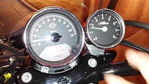 How To  Install A Tachometer Harley Davidson Street 750 Xg