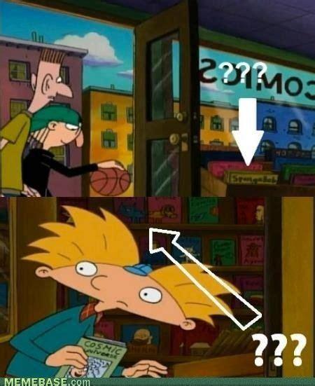 Hey Arnold Memes - internet memes football head blown jpg childhood hey arnold my childhood pinterest hey