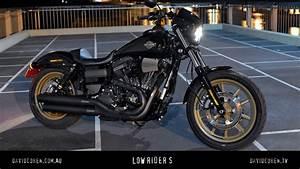 Harley Low Rider S : harley dyna low rider s test youtube ~ Medecine-chirurgie-esthetiques.com Avis de Voitures