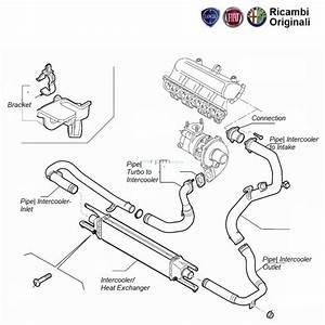 Fiat Genuine Turbo Inter  Heat Exchanger And