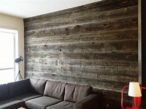 Barn board feature walls toronto by barnboardstore for Barn board interior walls