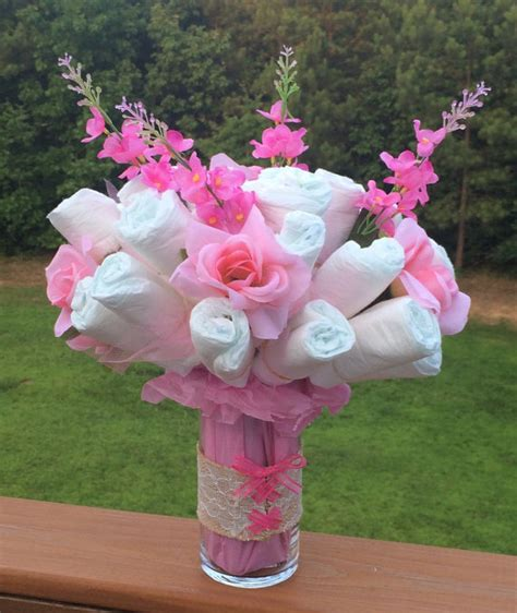 What To Make For Baby Shower Customizable Larkspur Bouquet In A Lace