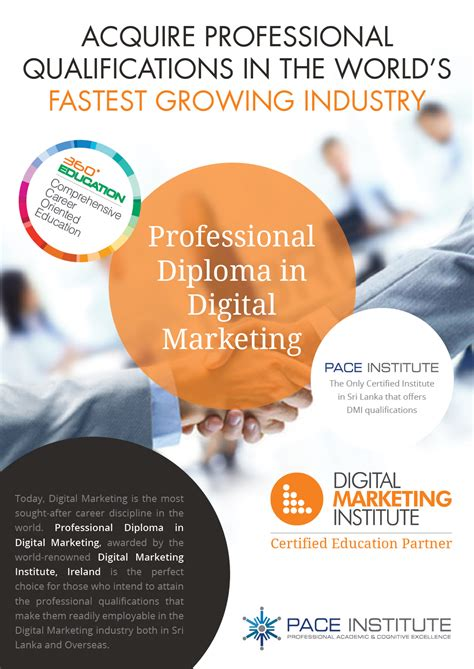 digital marketing diploma course professional diploma in digital marketing pace institute