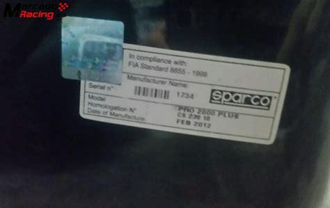 si鑒es baquet baquet sparco pro 2000 venta de equipación interna vehículo