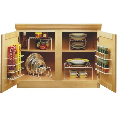 Kitchen Cupboard Space Savers by מוצר Kitchen Cabinet Organizer Set Cupboard Space Saver