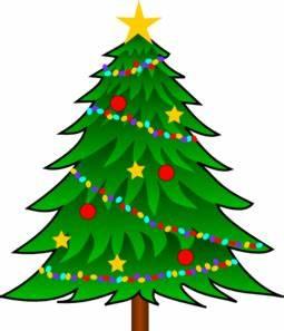Christmas Tree Clip Art With Lights | Clipart Panda - Free ...
