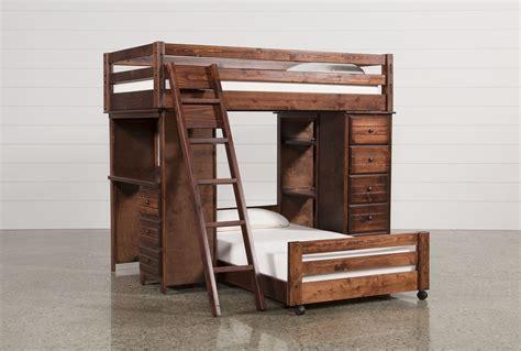living spaces desk sedona loft bunk w chest desk living spaces