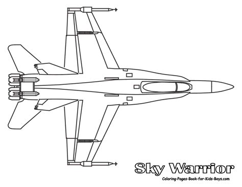 jet airplane coloring pages airplanes airplane