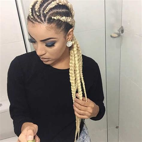 Cornrow With Extensions Hairstyles by 21 Trendy Braided Hairstyles To Try This Summer Stayglam