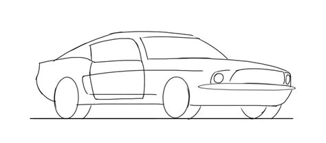 kid car drawing learn how to draw a muscle car junior car designer