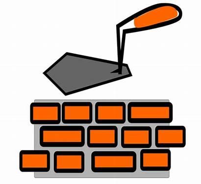 Clipart Clip Obra Mason Masonry Tools Cliparts