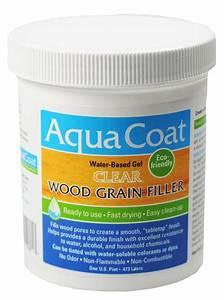 Wood Grain Filler / Clear Grain Filler Aqua Coat