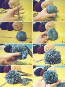 How to Make Easy Yarn Pom Poms