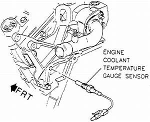 repair guides components systems temperature gauge With fig fig 3 coolant temperature cts sensor wiring diagram