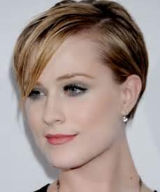 Evan Rachel Wood Short Hairstyle