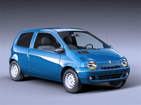 renault twingo renault twingo 1993 3d model