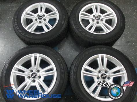 ford mustang rims and tires for four 2010 2014 ford mustang factory 17 quot wheels tires oem