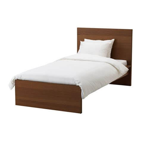 malm bed frame high lur 246 y ikea