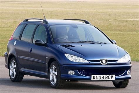 used peugeot prices peugeot 206 sw from 2002 used prices parkers