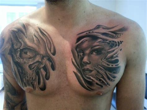 tattoovorlagen brust frau motive frau brust arts