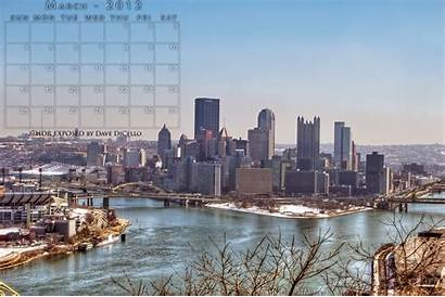 Pittsburgh Skyline Desktop March University Lost Photographer