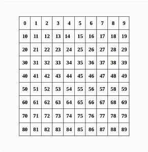 What Is A Prime Number Chart Number Chart Templates 8 Download Free Documents In Pdf