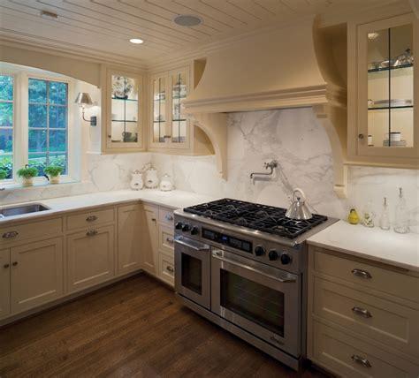 Cream Kitchen Cabinets  Transitional  Kitchen  Kansas