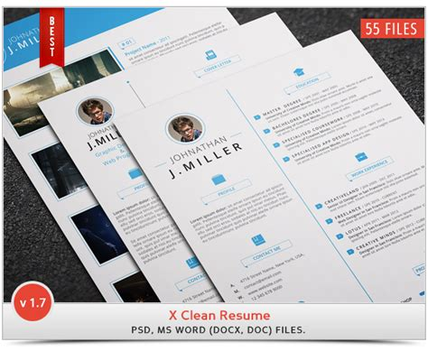 Jquery Resume Animation by The Cv Jquery Re