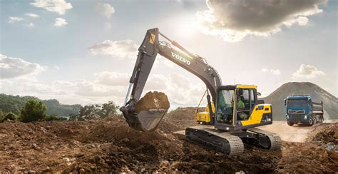 ecd crawler excavators overview volvo