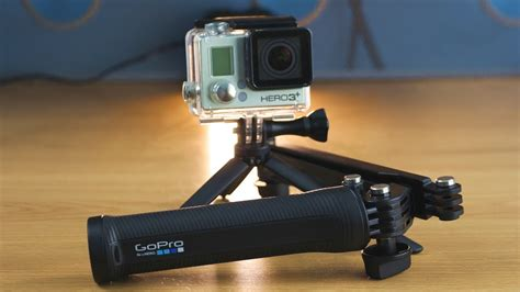 gopro 3 way mount unboxing review grip extension arm tripod youtube