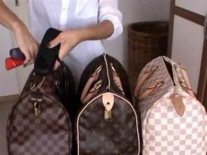 Louis Vuitton Speedy 30 comparison review - YouTube